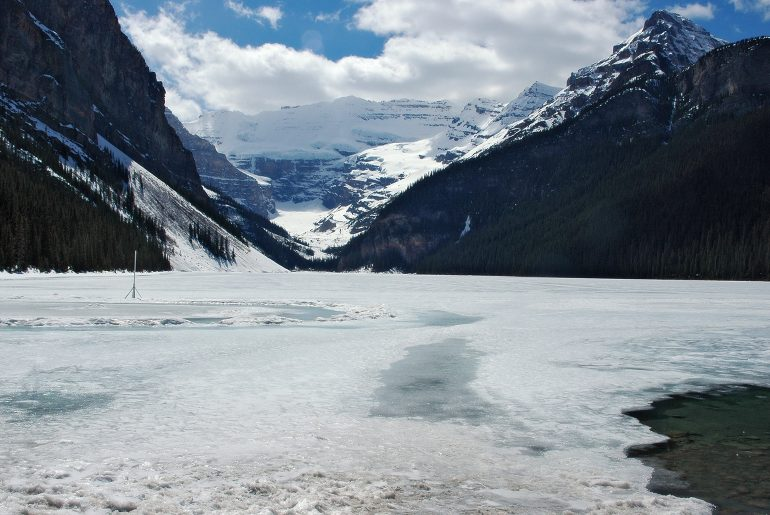 Bevroren Lake Louise