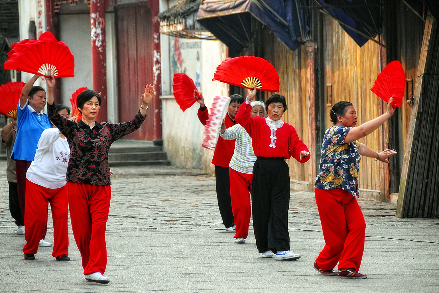 Tai Chi in Tongli