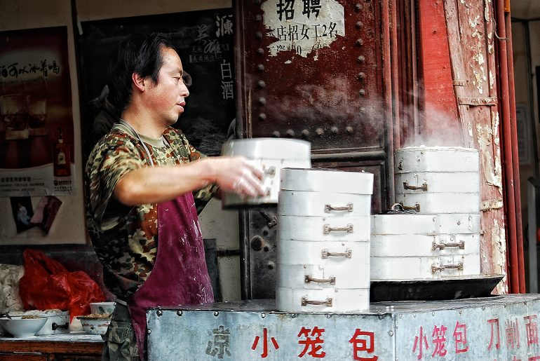 Chinese delicatesse : dumplings